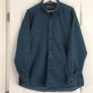 [Johnston & Murphy] Men's long-sleeve shirt